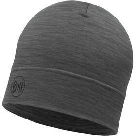 Buff Lightweight Merino Wool Hat Solid Grey